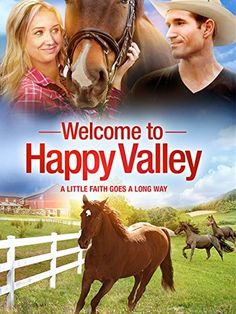 Welcome To Happy Valley Movie. Two estranged sisters are forced to live together when they inherit their father's struggling horse farm. The strain of reconciliation and financial difficulties put the future of the family farm in jeopardy. Horse Movies, Horse Books, Hallmark Christmas Movies, Hallmark Movies, Good Movies To Watch, Great Movies, Movies Showing, Movies And Tv Shows, Crush Movie