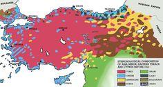 Gli Arcani Supremi (Vox clamantis in deserto - Gothian): Mappa della penisola anatolica prima dei genocidi ...