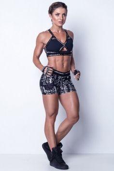 Shorts Labellamafia - Labellamafia FSH11221 Dani Banani Fashion Fitness