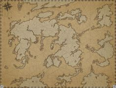 Map Inspiration:  Idea for how to design a world map.