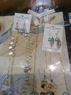 Gorgeous Midori jewelry, handcrafted in Hawaii with freshwater pearls and 24k gold