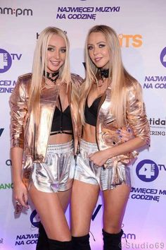 Sweet & Spicy !!! ADHD Sisters in our braces ❤✌⚡  #girlpower #sexy #blonde #sister #highfashion