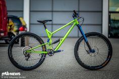 Stahl-Bike von Portus Cycles