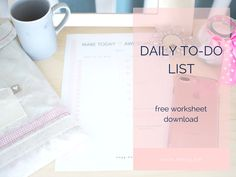 daily to-do list 2017
