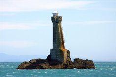 Karori Rock Unmanned Lighthouse. New Zealand