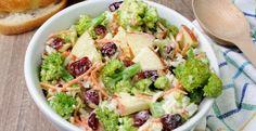 Salade de brocoli et pommes...la perfection dans votre assiette - Recettes - Ma Fourchette