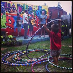 """A Wonderful Family-Friendly Sunday Evening at """"Weather Permitting"""" at the Shadyside Nursery"""