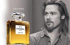 Chanel Numero 5 par Brad Pitt, il fallait oser !