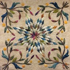 Made at The Quilting Bee Quilt Shop in Fonthill, Ontario by Nellie Zonneveld. Long arm machine quilting by Kelly Corfe. Design by Edyta Sitar of Laundry Basket Quilts. www.thequiltbee.com
