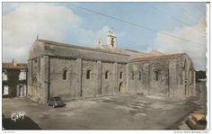 Oleron - St Georges, l'église romane