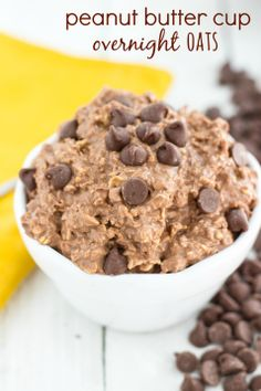 Overnight Oats - Peanut Butter Cup flavored