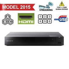 nice Sony BDP-S3500 Region Free DVD and Zone ABC Blu Ray Player with 100-240 Volt, 50/60 Hz, Free 6' HDMI Cable and US- European Adapter