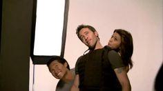 Hawaii Five-0.. BTS photoshoot