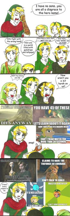 Past Hero Link is Disappoint: Part 7 by hopelessromantic721 on deviantART (this is the best thing ive ever seen)