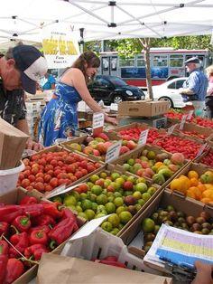 Farmers Market, San Francisco, CA. Photo by Taryn Koerker