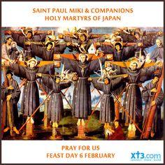 Happy #FeastDay of St Paul Miki & Companions, martyrs of Japan. #PrayforUs