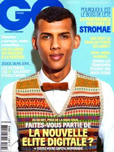 GQ France Cover with Stromae Septembre 2013