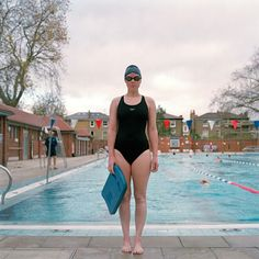 """Credit: Madeleine Waller Claire Anderson, 29 """"I swim here four times a week, even in winter. Its heated, so sometimes it's the warmest place..."""