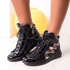 Sneakersi dama negri Monnali