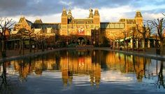 Rijksmuseum, Amsterdam    Saw my very first Rembrandt