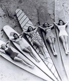 Surfer babes. CA staple.