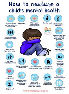 ways to nurture a child's mental health