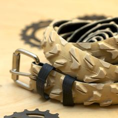 belts made from old bike tires