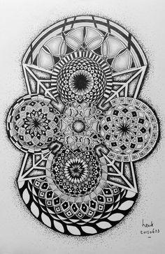 Geometric drawing 03