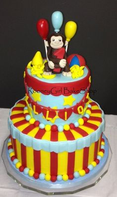 Curious George Baby's 1st Birthday