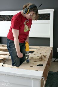 Free Plans To Build A Cal King Platform Storage Bed