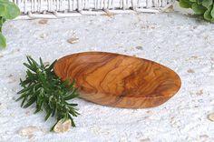 Bowls of olive wood oval KLEIN