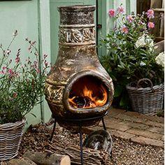 finn mexikansk chimenea utepeis peis ildsted grill. Black Bedroom Furniture Sets. Home Design Ideas