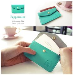 MochiThings.com: Afternoon Tea Name Card Case