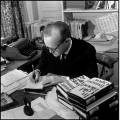 Truman Capote, Royal HH typewriter,re-pinned by www.jane-davis.co.uk