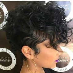 These soft curls are so pretty pekelariley jacksonvillestylist shorthair naturalhair summerstyle voiceofhair Cute Hairstyles For Short Hair, Hairstyles Haircuts, Curly Hair Styles, Natural Hair Styles, Relaxed Hairstyles, Short Sassy Hair, Short Curls, Short Hair Cuts, Love Hair