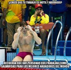 """Y en la gustada sección: """"Me Río de Janeiro..."""""""