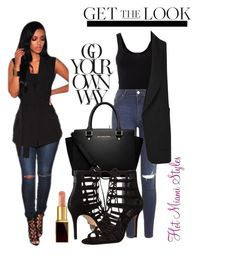 """OOTD x HMS"" by dopegeezy ❤ liked on Polyvore featuring moda, Theory, Topshop, Alexander Wang, MICHAEL Michael Kors, Michael Kors, Tom Ford, women's clothing, women i female"