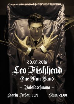 Leo Fishhead One Man Band
