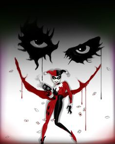 Harley and the Joker. My phone's new home screen :)