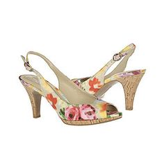 Floral pumps, perfection!  http://valleywestmall.com/directory