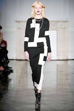 Dress by Charles Anastase Fall 2009