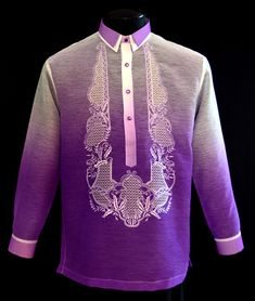 Lavender Barong Tagalog  -Expertly tailored, beautifully made suiting for all occasions.Barongs R Us committed to offer qualitative and extensive range of original Barong suits, dresses, branded clothing, Barong Tagalog for men & Filipiniana dresses for women.  #barongtagalog #filipiniana #filipinoculture #pinoypride #madeinthephilippines #filam #filcanadian #filbrit #filaussie #filnewzealander #becomingfilipino #pinoysmakinnoise #barongwarehouse