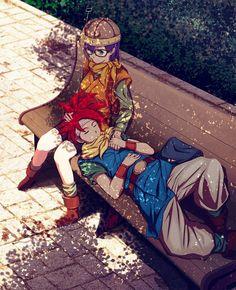 Tags: Anime, SQUARE ENIX, Chrono Trigger, Lucca Ashtear, Crono