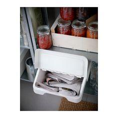 SORTERA Recycling bin with lid - 16 gallon - IKEA