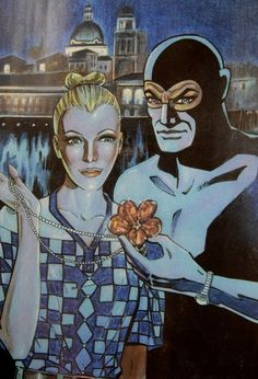 Eva Kant e Diabolik con lo sfondo di Mantova Diabolik, Pulp Fiction Art, Vintage Cowgirl, Illustrators, Princess Zelda, Cartoon, Hobbs, Glamour, Fictional Characters