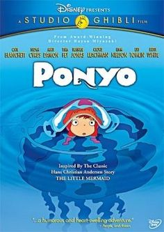 Ponyo - gift for Colin's bday one of Stephania's fav movie she thinks she is pony lol