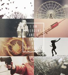 Divergent is my new obsession. I read both books in 3 days. I might read them again