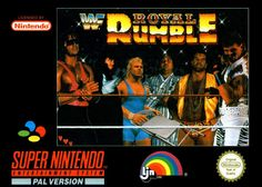 WWF Royal Rumble for the SNES #nintendo #retrogaming