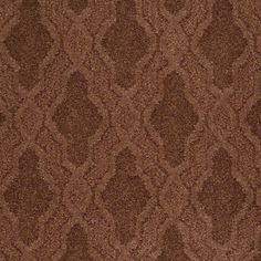 """Carpeting in style  """"Stylish Art"""" color Grand Canyon - breathtaking Arabesque pattern - Flooring by Shaw"""