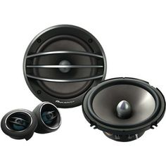 """PIONEER TS-A1604C 6.5"""" COMPONENT SET SPEAKERS (TS-A1604C) - by Pioneer. $69.76. 6.5"""" COMPONENT SET; 400W MAX POWER; 50W RMS; CARBON GRAPHITE IMPP INTERLACED ARAMID FIBER CONE"""